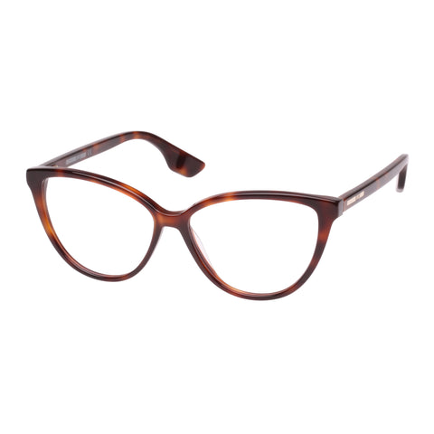 Mcqueen Female Mq0063o Tort Cat-eye Optical Frames