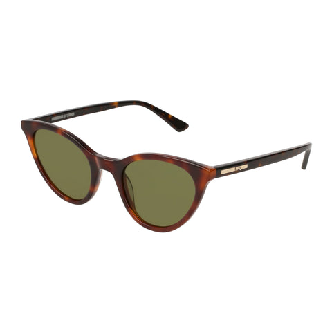 Mcqueen Female Mq0122s Tort Cat-eye Sunglasses