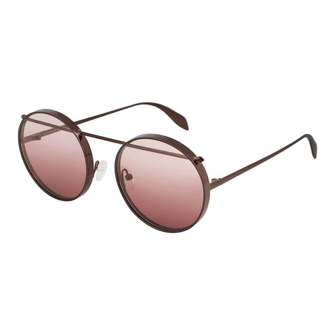Mcqueen Female Mq0137s Silver Cat-eye Sunglasses