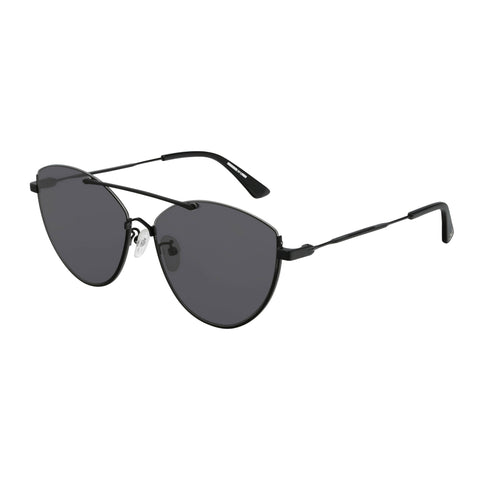Mcqueen Female Mq0214sa Black Cat-eye Sunglasses