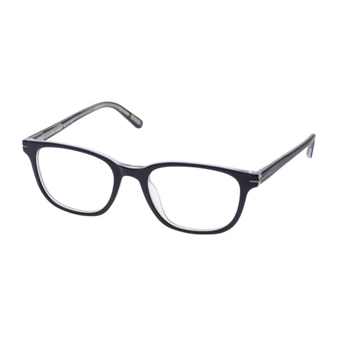 Morrissey Male Spry Navy Modern Rectangle Optical Frames
