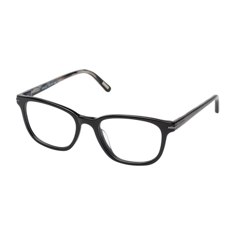 Morrissey Male Spry Black Modern Rectangle Optical Frames