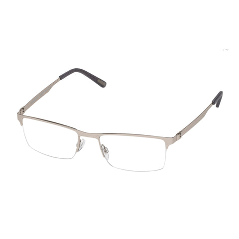 Morrissey Male Bombastic Silver Rectangle Optical Frames