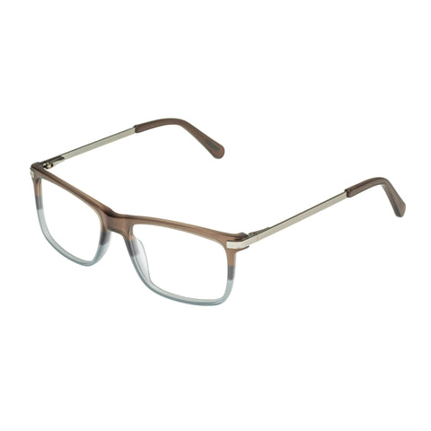 Morrissey Male Momentum Brown Modern Rectangle Optical Frames