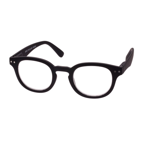 Oppen Uni-sex Spec-tacular Black Round Readers