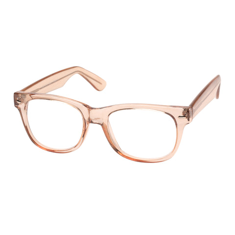 Oppen Uni-sex How Eye Roll Brown Modern Rectangle Readers