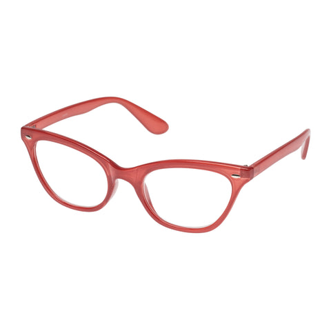 Oppen Female Sesame Brown Cat-eye Readers