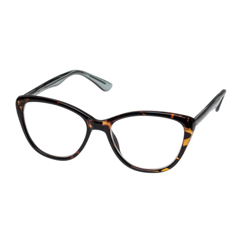 Oppen Female Hearted Tort Cat-eye Readers