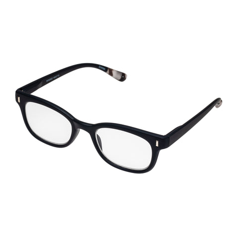 Oppen Uni-sex Minded Navy Modern Rectangle Readers