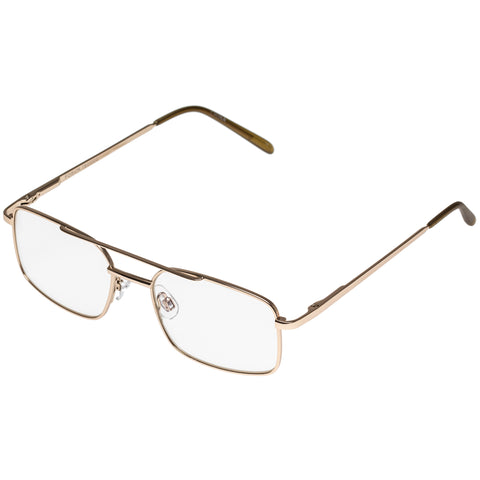 Oppen Male Forum Gold Classic Double Bridge Readers