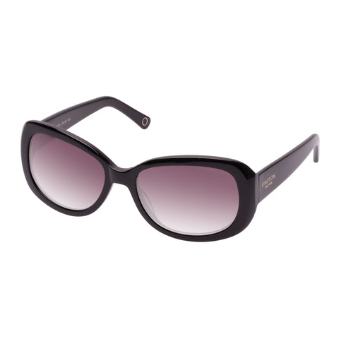Oroton Female Journey Black Wrap Fashion Sunglasses