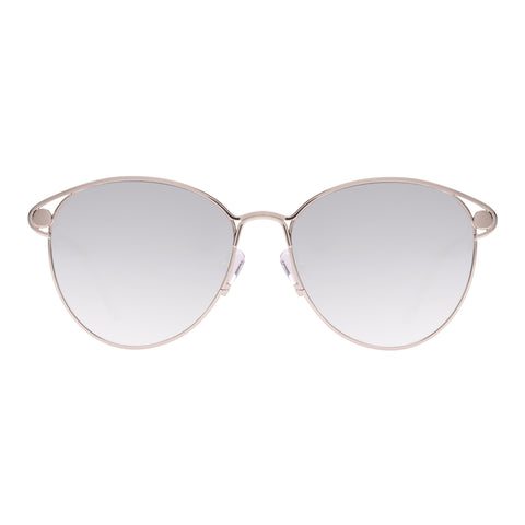 Oroton Female Avalon Silver Round Sunglasses