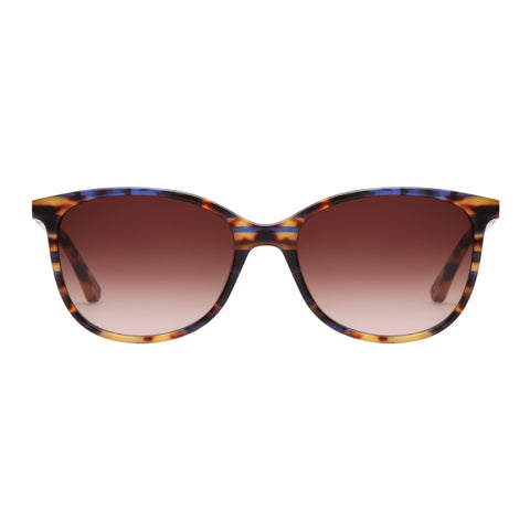 Oroton Female Estate Tort Cat-eye Sunglasses