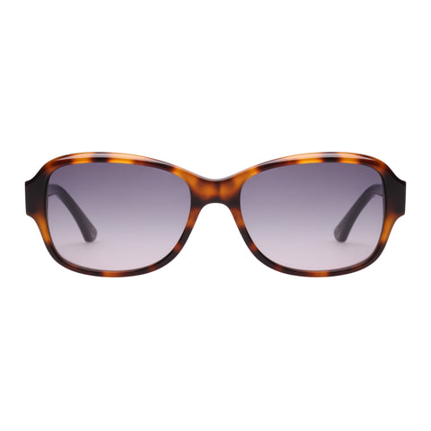 Oroton Female Heritage Tort Wrap Fashion Sunglasses