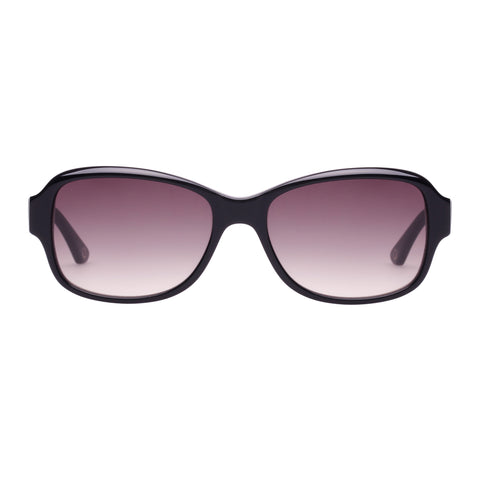 Oroton Female Heritage Black Wrap Fashion Sunglasses