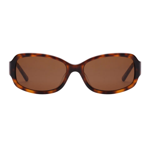 Oroton Female Oxford Tort Wrap Fashion Sunglasses