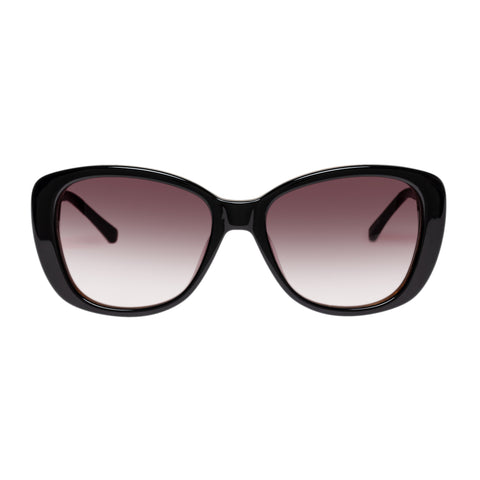 Oroton Female Derby Alternate Fit Black Wrap Fashion Sunglasses