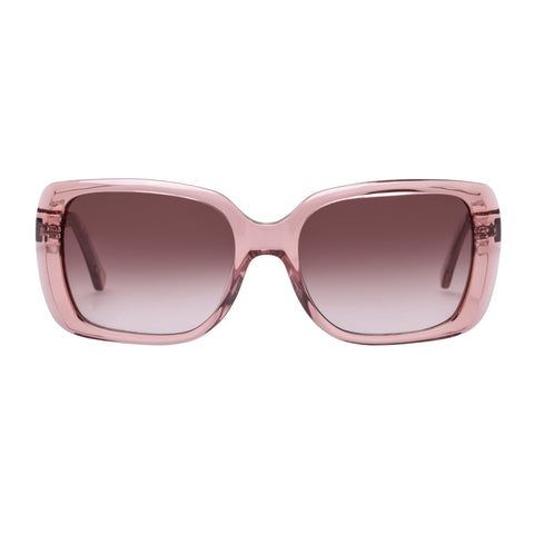 Oroton Female Abroad Rose Wrap Fashion Sunglasses