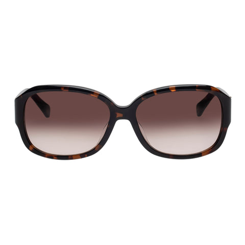 Oroton Female Meander Tort Wrap Fashion Sunglasses