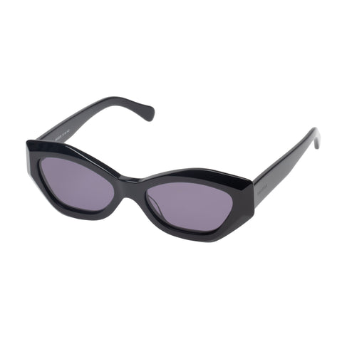 Oroton Female Mia Black Cat-eye Sunglasses