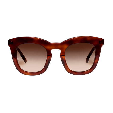 Oroton Female Duo Tort Modern Rectangle Sunglasses