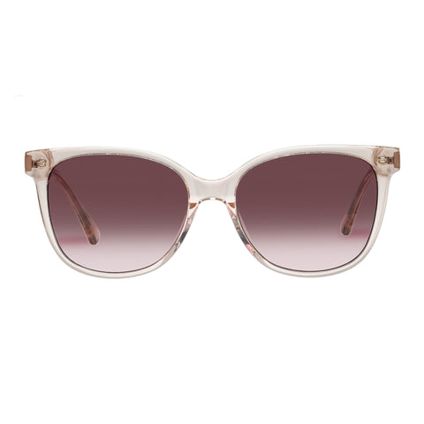 Oroton Female Uma Beige Square Sunglasses