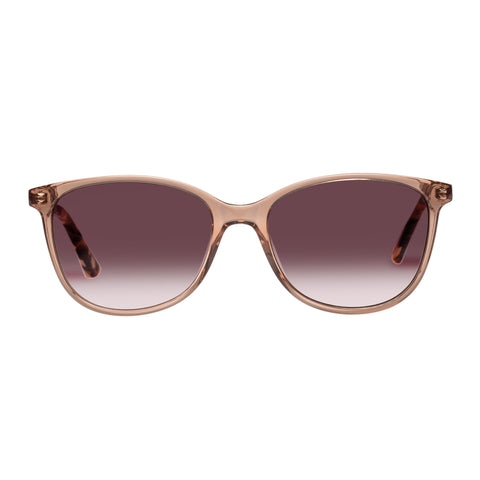 Oroton Female Estate Tan Modern Rectangle Sunglasses