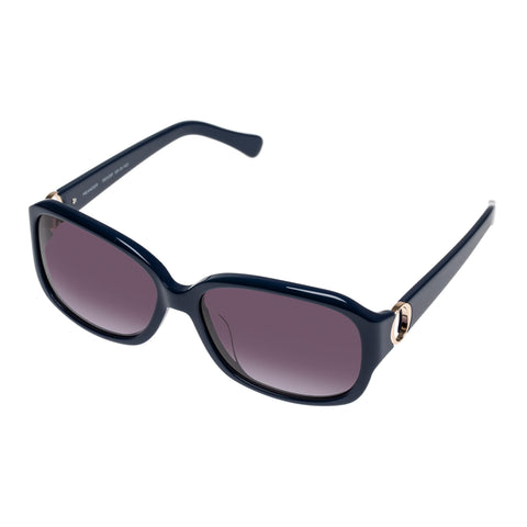 Oroton Female Meander Navy Wrap Fashion Sunglasses