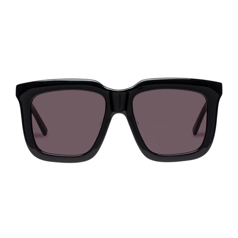 Oroton Female Valentina Black Square Sunglasses