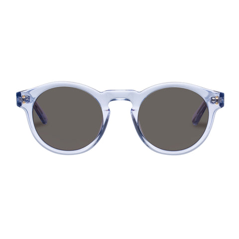 Oroton Female Cleo Blue Round Sunglasses