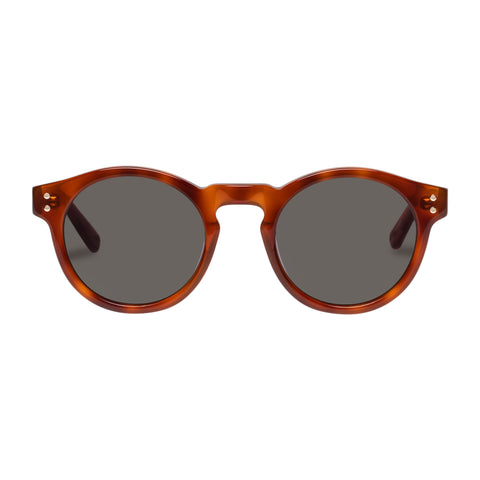 Oroton Female Cleo Tort Round Sunglasses