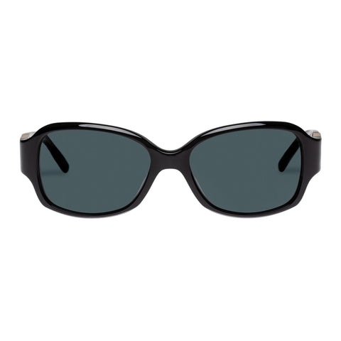 Oroton Female Jacinta Black Wrap Fashion Sunglasses