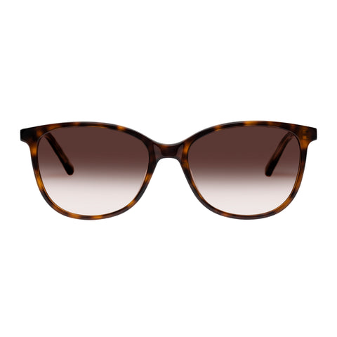 Oroton Female Lillian Tort Modern Rectangle Sunglasses
