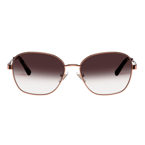 Oroton Female Everly Rose Oval Sunglasses