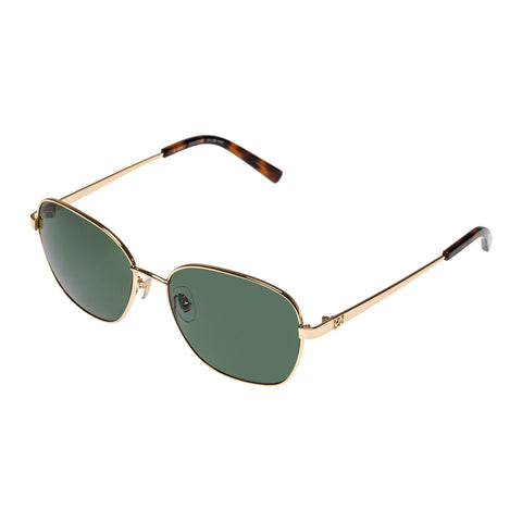 Oroton Female Everly Gold Oval Sunglasses
