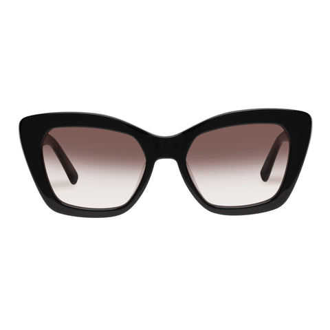 Oroton Female Naeva Black Cat-eye Sunglasses