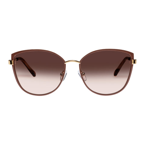 Oroton Female Ebony Tan Cat-eye Sunglasses