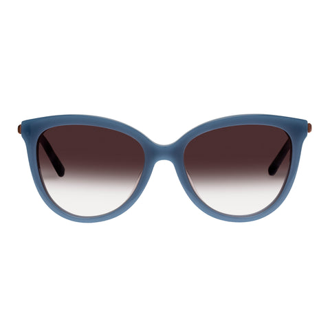 Oroton Female Iris Blue Cat-eye Sunglasses