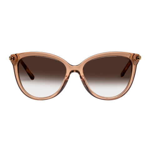 Oroton Female Iris Tan Cat-eye Sunglasses