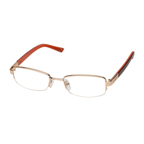 Oroton Female Sofia Gold Classic Optical Frames