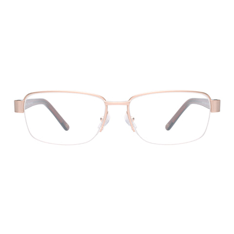 Oroton Female Clementine Gold Square Optical Frames