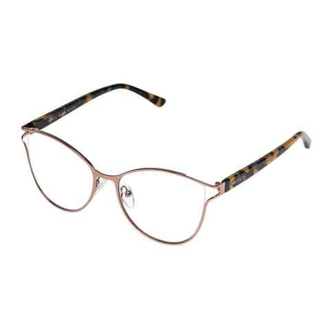 Oroton Female Isabella Brown Cat-eye Optical Frames