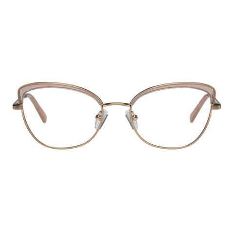 Oroton Female Laurel Tan Cat-eye Optical Frames