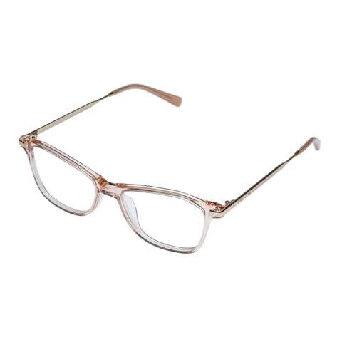 Oroton Female Gray Tan Cat-eye Optical Frames