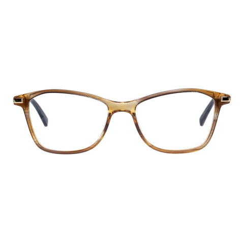 Oroton Female Gray Brown Cat-eye Optical Frames