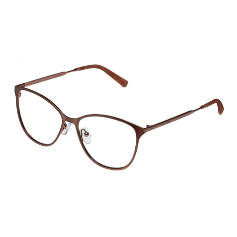 Oroton Female Sylvie Brown Cat-eye Optical Frames