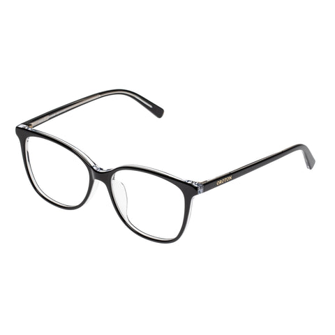 Oroton Female Ingrid Black Cat-eye Optical Frames