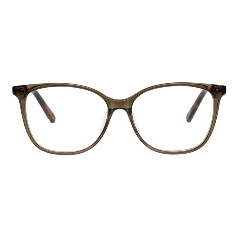 Oroton Female Ingrid Khaki Cat-eye Optical Frames