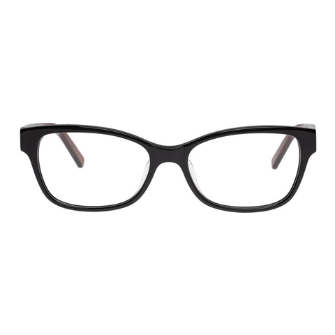 Oroton Female Beatrix Black Modern Rectangle Optical Frames