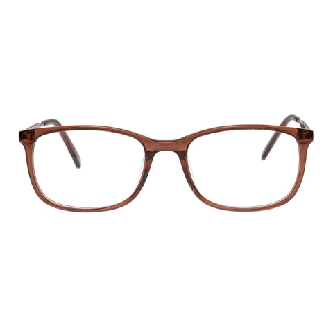 Oroton Female Octavia Brown Modern Rectangle Optical Frames